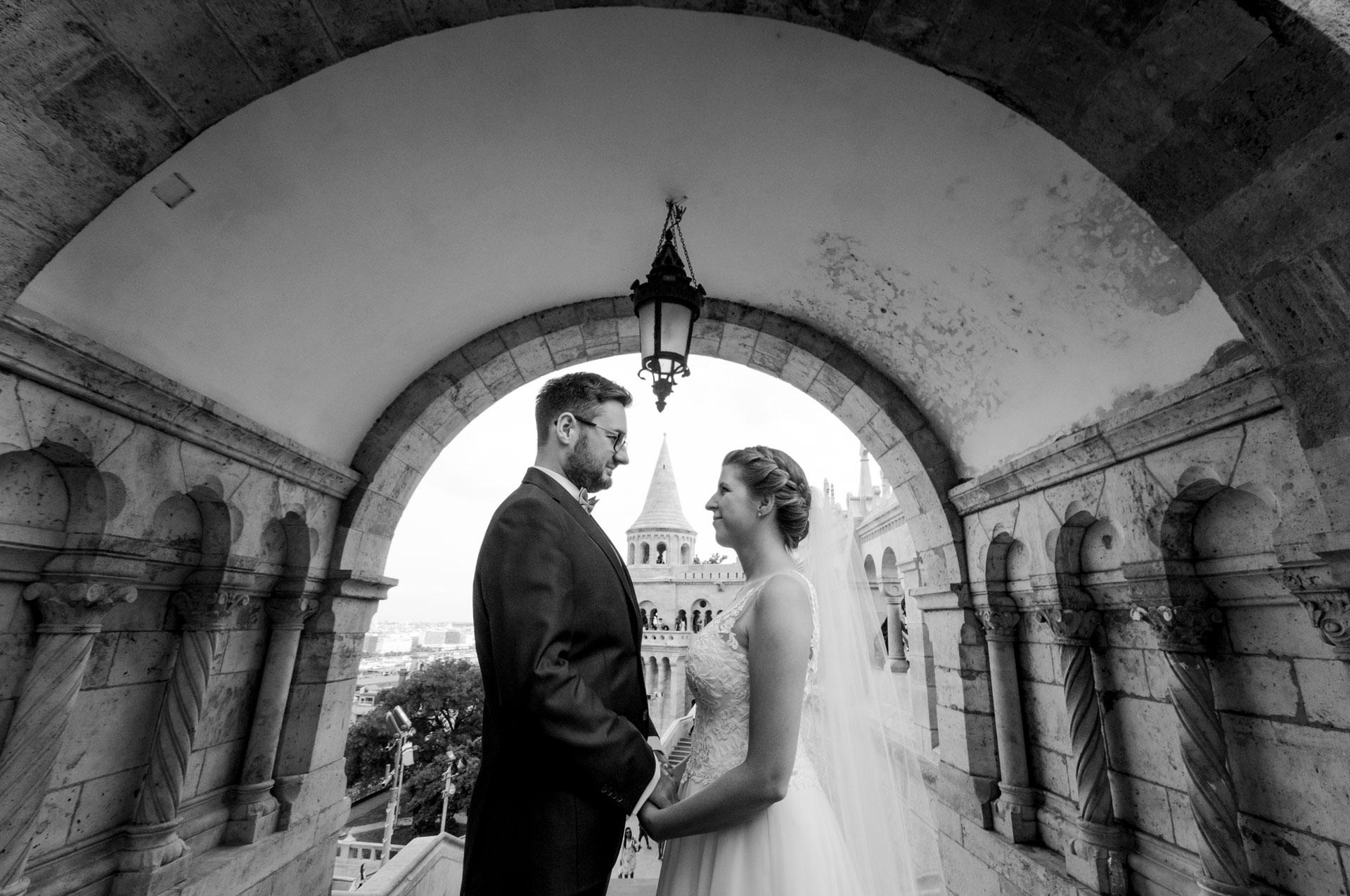 Budapest adventure wedding and honeymoon choice