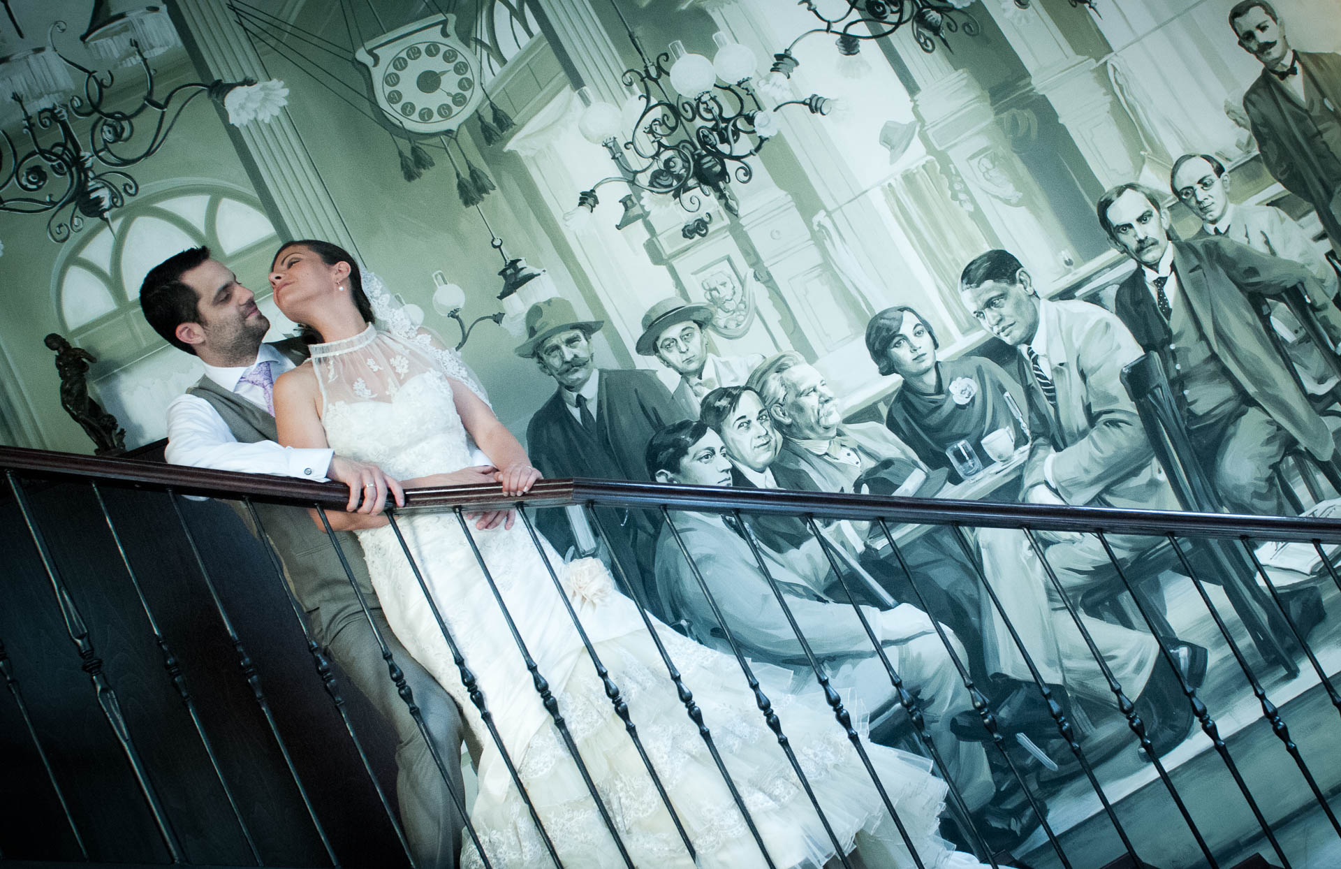 Adventure wedding location idea is Budapest, with bohemian bars and cafes
