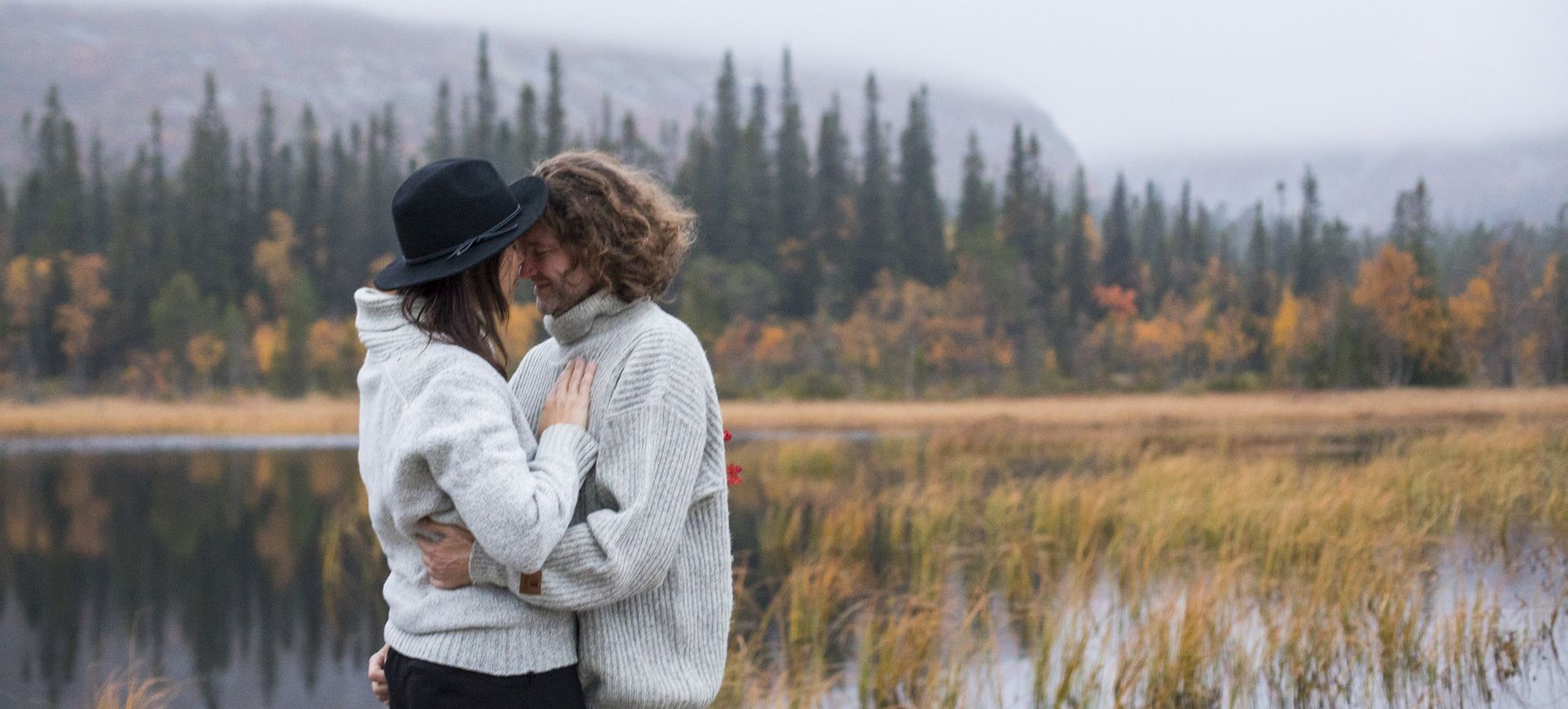 adventure wedding package sweden - get married at a waterfall