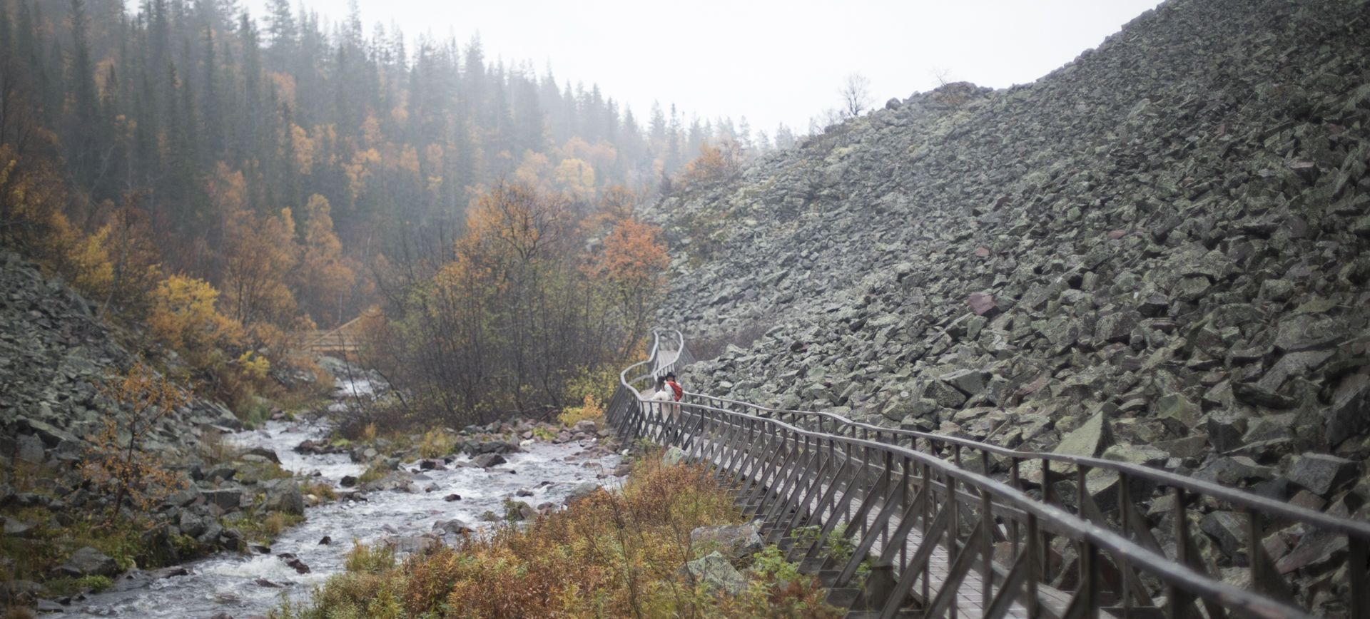 waterfall adventure wedding sweden