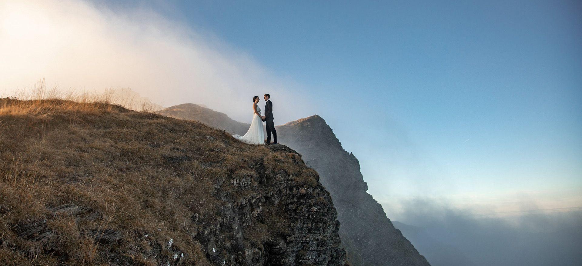 austria hiking adventure wedding package