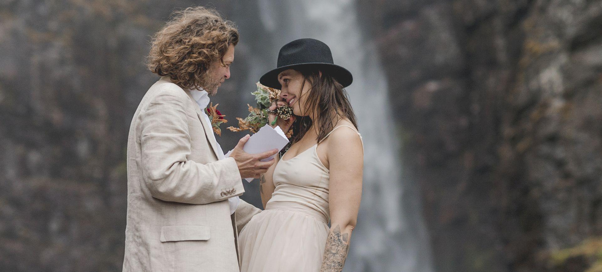 destination wedding package sweden -glamping wedding in fulufjället national park