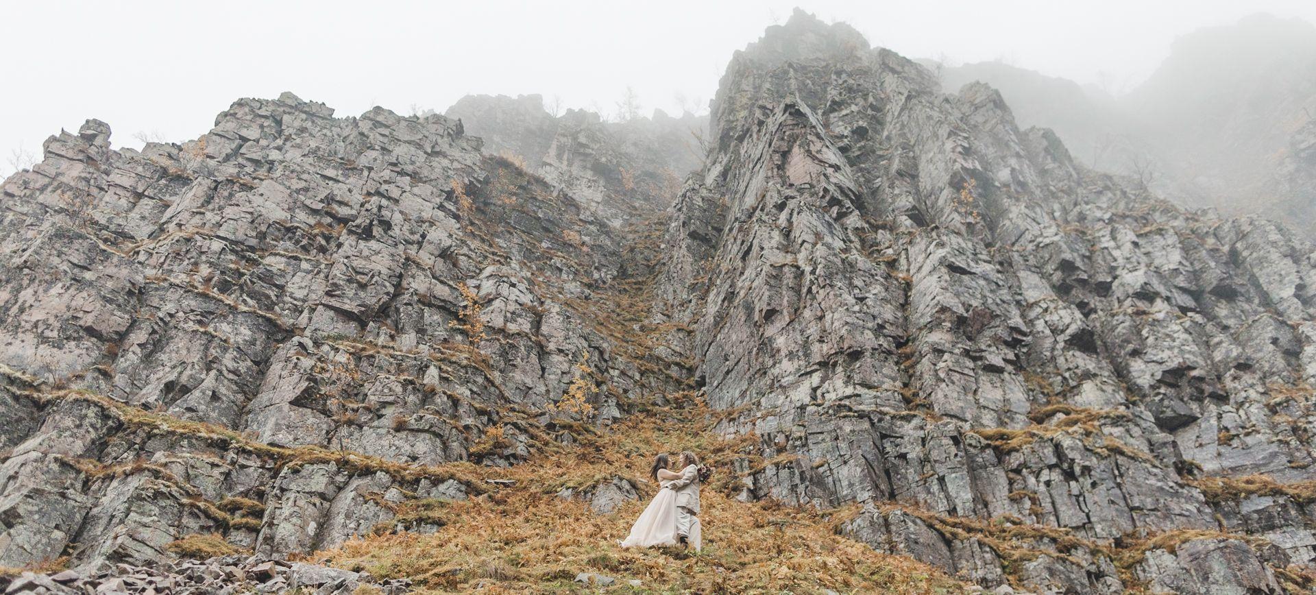 glamping elopment in sweden - elope to fulufjället national park