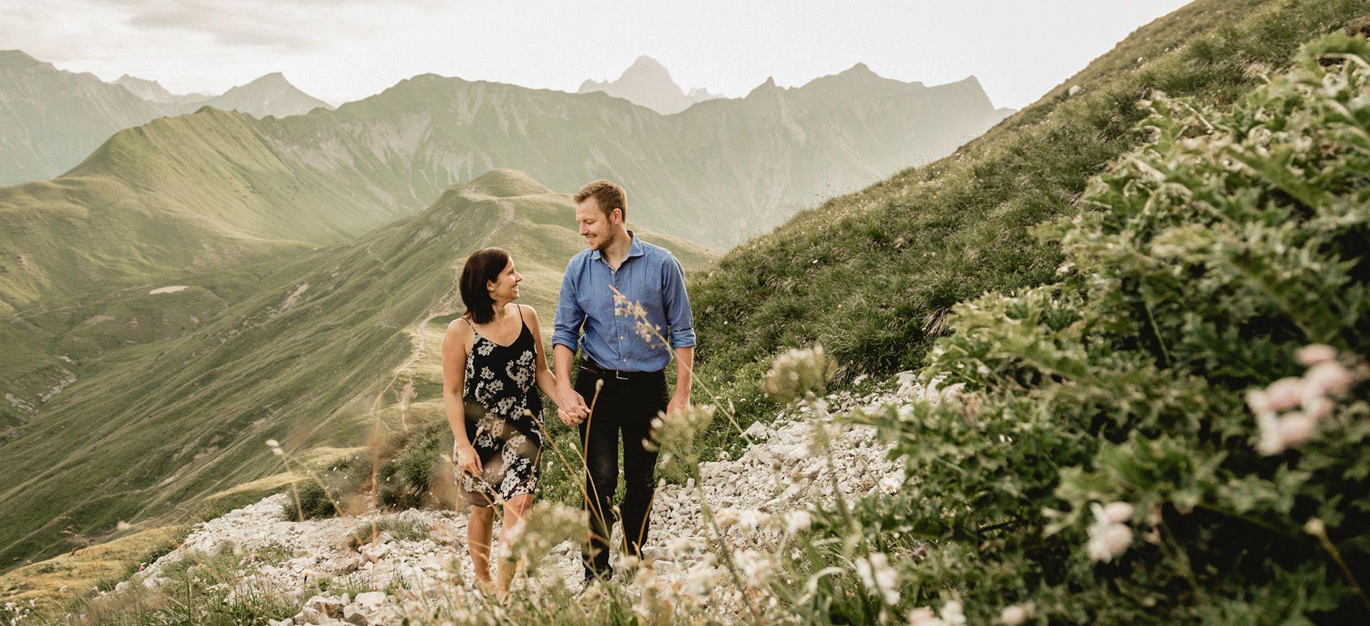 hiking elopement austria